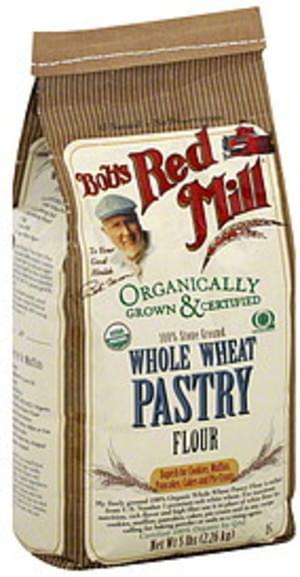 Bob's Red Mill Whole Wheat Pastry 5 Lbs Flour - 4 pkg