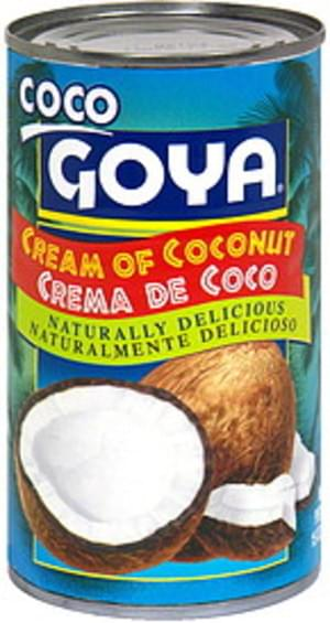 Goya Coco Cream of 15 Oz Coconut - 24 pkg