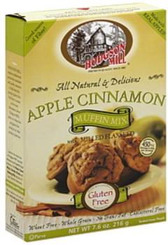 Hodgson Mill Muffin Mix Apple Cinnamon 7.6 Oz