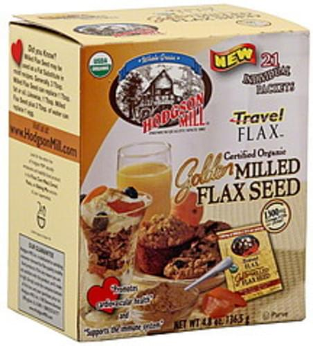 Hodgson Mill Golden Travel Flax 4.8 Oz Milled Flax Seed - 6 pkg