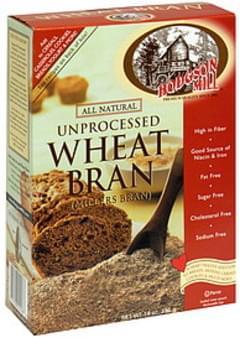 Hodgson Mill Bran Unprocessed Wheat 14 Oz