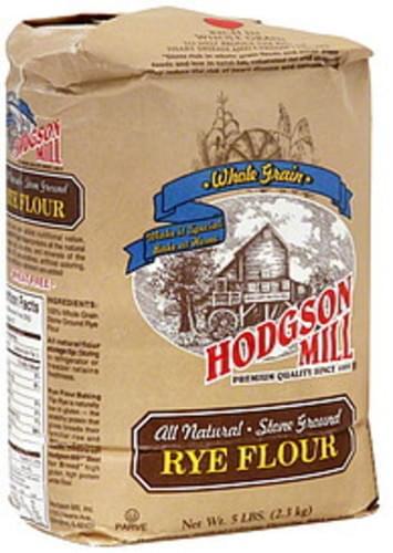 Hodgson Mill Rye 5 Lb Mill Flour - 6 pkg