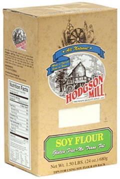 Hodgson Mill Flour Soy 24 Oz