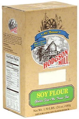 Hodgson Mill Soy 24 Oz Flour - 6 pkg