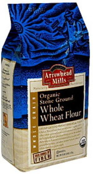 Arrowhead Mills Flour Whole Wheat 80 Oz - 6 pkg