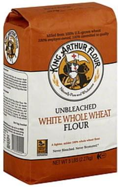 King Arthur Flour Flour White Whole Wheat 5 Lb