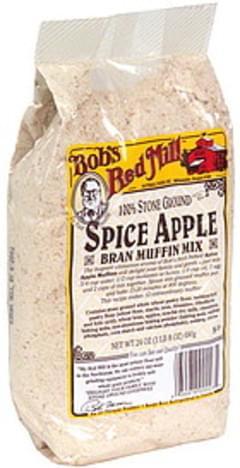 Bob's Red Mill Muffin Mix Spice Apple Brand 24 Oz.