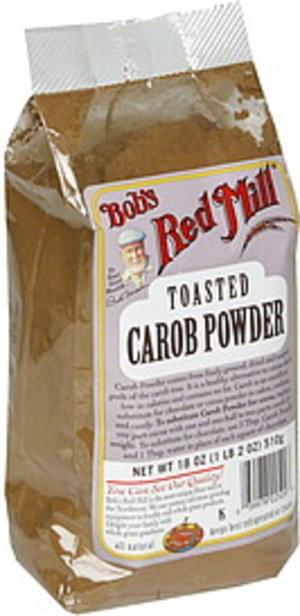 Bob's Red Mill Premium Quality 18 Oz Toasted Carob Powder - 4 pkg
