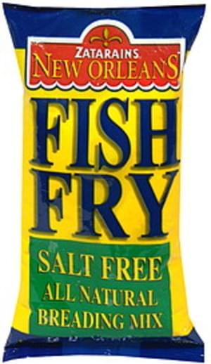 Zatarain's All Natural 10 Oz Fish Fry - 12 pkg