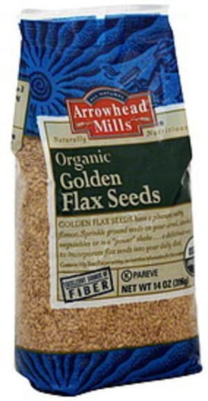 Arrowhead Mills Golden 14 Oz Flax Seeds - 6 pkg