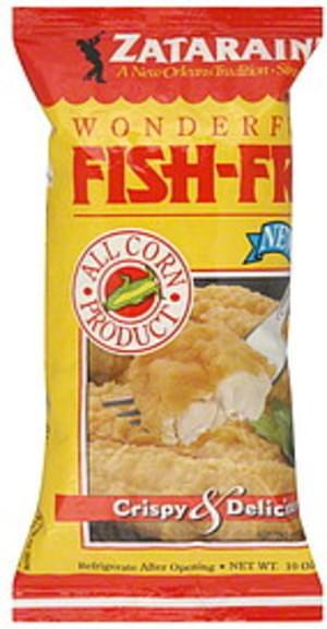 Zatarain's Crispy & Delicious 10 Oz Fish Fri - 12 pkg