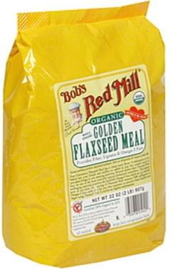 Bob's Red Mill Flaxseed Meal Organic Golden Whole Ground 32 Oz