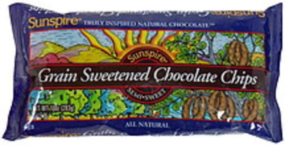 Sunspire Chocolate Chips Grain Sweetened 10 Oz - 6 pkg