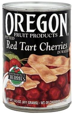 Oregon Fruit Products Red Tart Cherries Pitted In Water 14.5 Oz