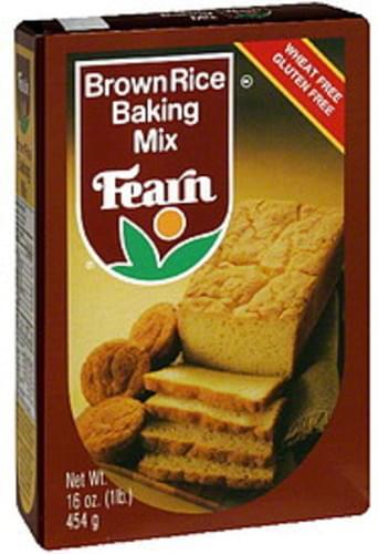 Fearn Brown Rice 16 Oz Baking Mix - 12 pkg