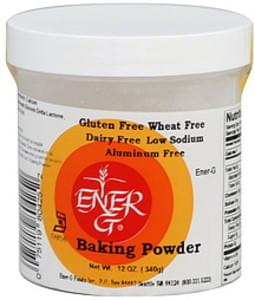 Ener-g Baking Powder 7 Oz