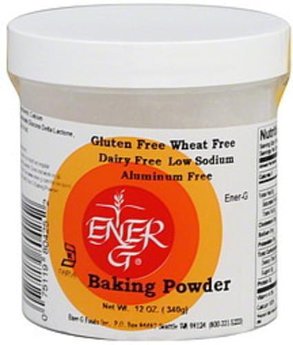 Ener-g 7 Oz Baking Powder - 6 pkg