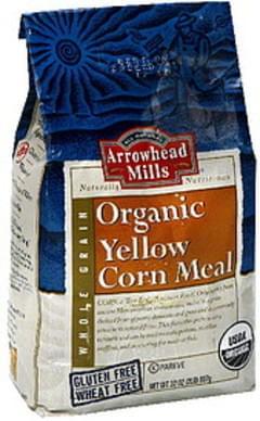 Arrowhead Mills Organic Yellow 32 Oz Corn Meal
