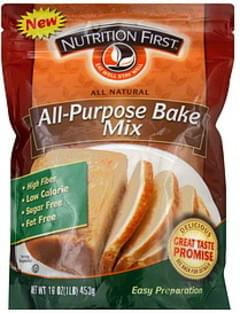 Nutrition First Bake Mix All-Purpose 16 Oz