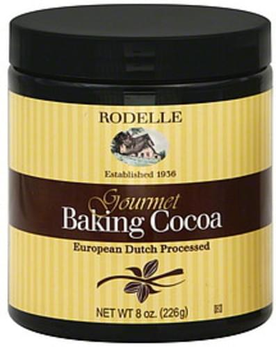 Rodelle Gourmet 8 Oz Baking Cocoa - 6 pkg