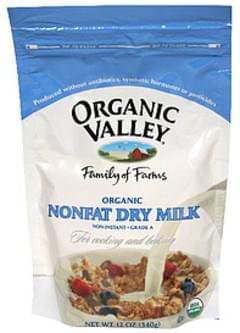 Organic Valley Dry Milk Nonfat 12 Oz