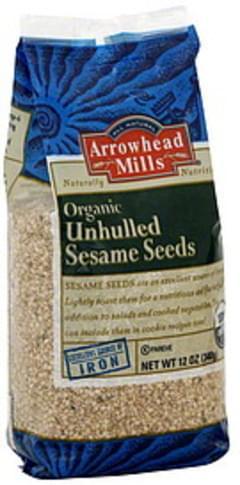 Arrowhead Mills Sesame Seeds Organic Unhulled 12 Oz