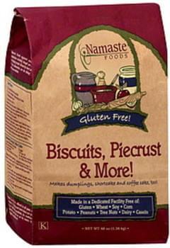 Namaste Foods Biscuit & Piecrust Mix 48 Oz