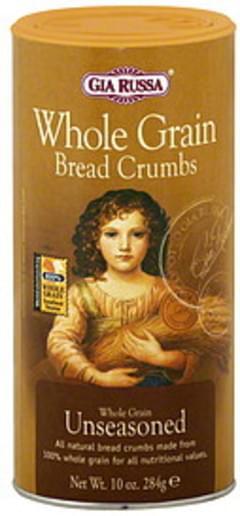 Gia Russa Bread Crumbs Whole Grain Unseasoned 10 Oz