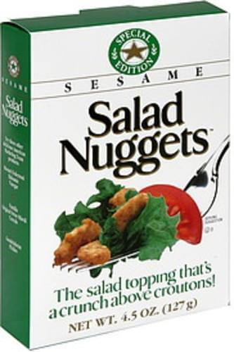 Salad Nuggets Special Edition 4.5 Oz Sesame - 12 pkg