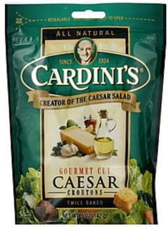 Cardini's Croutons Twice Baked Caesar 5 Oz