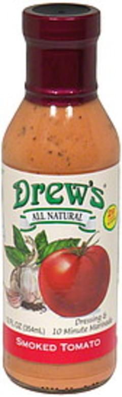 Drew's Dressing & Quick Marinade Smoked Tomato 12 Oz