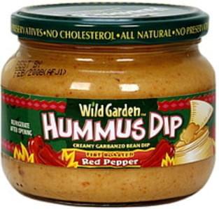 Wild Garden Dip Fire Roasted Red Pepper Hummus 13.4 Oz