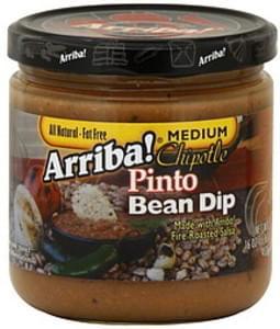 Arriba Bean Dip Chipotle Pinto 16 Oz