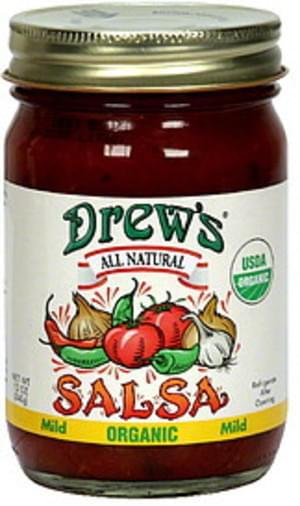 Drew's Thick & Chunky Mild 12 Oz Salsa - 6 pkg