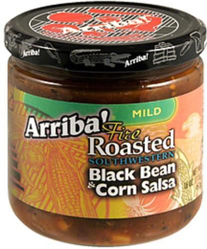 Arriba Bean and Corn 16 Oz Salsa - 6 pkg