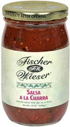 Fischer & Wieser Salsa Salsa A la Charra 16 Oz