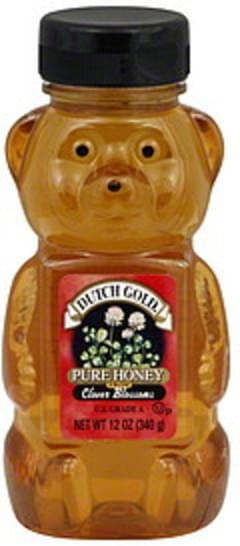 Billy Bee Pure Organic 13 Oz Honey - 6 pkg, Nutrition