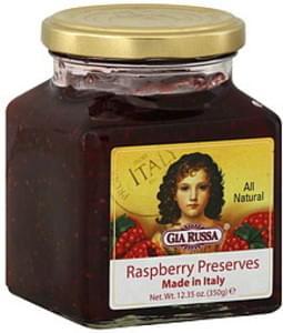 Gia Russa Raspberry Preserves 12.35 Oz
