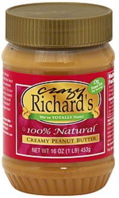Crazy Richard's Peanut Butter Creamy 16 Oz