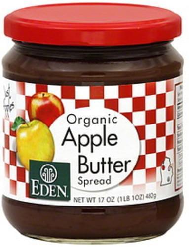 Eden Apple Butter 17 Oz Spread - 12 pkg