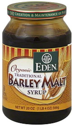 Eden Barley Malt 20 Oz Syrup - 6 pkg