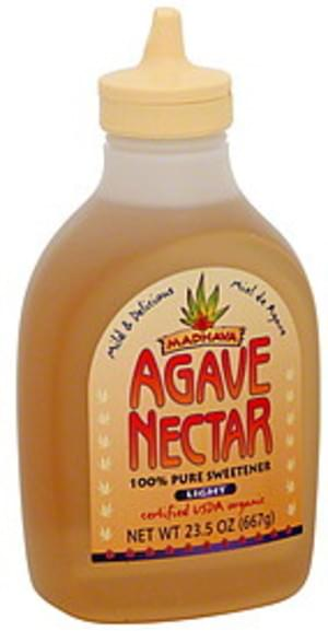 Madhava Light 23.5 Oz Agave Nectar - 6 pkg