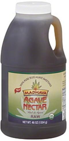 Madhava Agave Nectar Raw 46 Oz