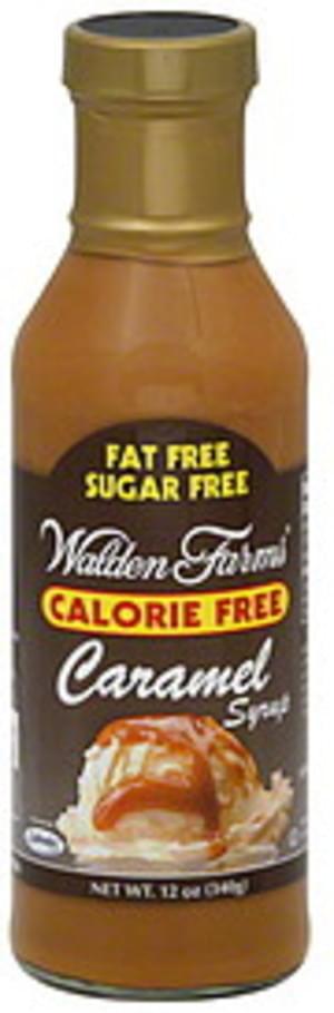 Walden Farms Caramel 12 Oz Syrup - 6
