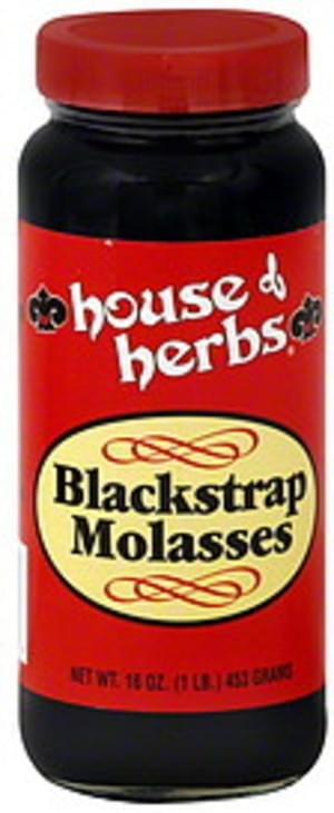 House Of Herbs Blackstrap 16 Oz Molasses - 12 pkg