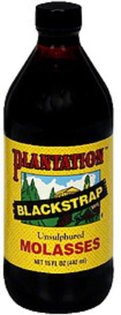 Plantation Molasses Blackstrap 15 Oz