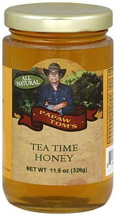 Papaw Tom's Honey Tea Time 11.5 Oz