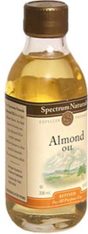 Spectrum Naturals Refined 8 Fl Oz Almond Oil - 8 pkg