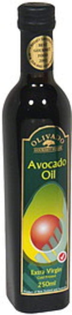 Olivado Avocado Oil Cold Pressed Extra Virgin 8.45 Fl Oz