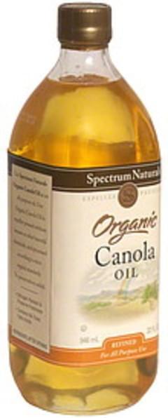 Spectrum Canola Oil Naturals Organic 32 Oz